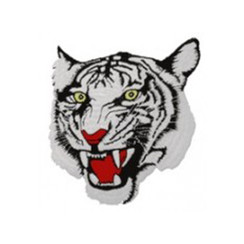 #1420 WHITE TIGER SMALL 2.5""