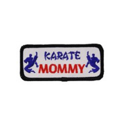 #1445 KARATE MOMMY  3.5""