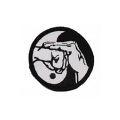 """#1467 Kenpo Salute Blk/Wht 2"""""""