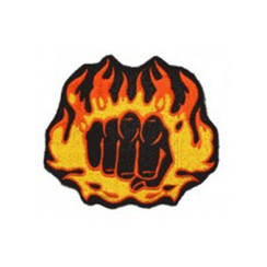 "#1541 FIST FIRE  4"""