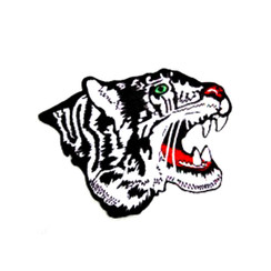 """#1544 WHITE TIGER PROFILE  4.5"""""""
