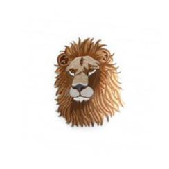 "#1546 LION HEAD (XL) 9""H"