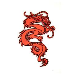 "#1642D Dragon 6"" (Orange)"
