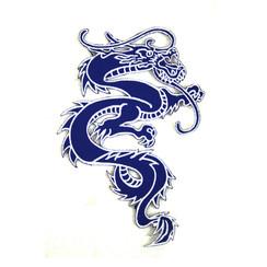 """#1642F Dragon 6"""" (Blue)"""