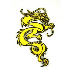 "#1642G Dragon 6"" (Gold)"