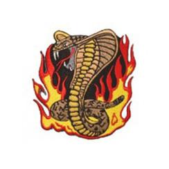 """#1674 SNAKE FLAME  4"""""""
