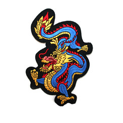 "#1728C Dragon 6"" (Blue)"