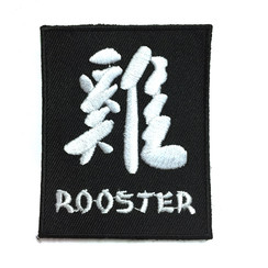 "#1779-10 Rooster Kanji 2.75"""