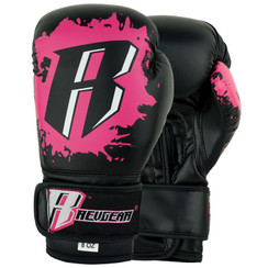 Revgear Youth Deluxe Boxing Gloves: Pink 8oz