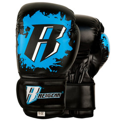 Revgear Youth Deluxe Boxing Gloves: Blue 8oz