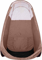 Brown Pop Up Spray Tanning Tent