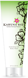 Extending Silk Body Wash 2oz by Kahuna Bay Tan