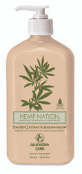 Australian Gold Hemp Nation® Toasted Coconut & Marshmallow Moisturizing Tan Extender, 18 oz