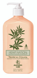 Australian Gold Hemp Nation Tropical Colada Tan Extender Moisturizer, 18 oz