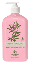 Australian Gold Hemp Nation Watermelon Lemonade Tan Extender Body Lotion, 18 oz
