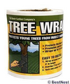 Tree Wrap: 4&quot; Wide, 40 ft. Roll
