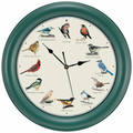 Original Singing Bird Clock 10.7 Inch