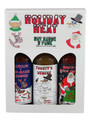 Holiday Heat Hot Sauce 3 Pack