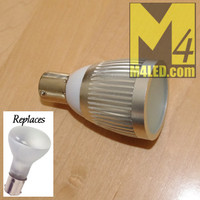 1383-3W-WW Warm White 1383 Retrofit Bulb 3 Watts Aluminum Finned Housing
