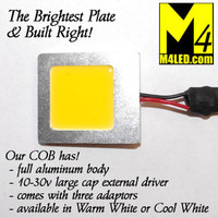 COB04-CW Cool White Elite Series Super Bright COB LED Plate