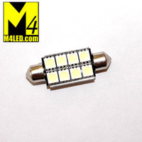 FESTOON-8-5050-CB-CW Cool White CANBUS Festoon 42mm x 8mm Dome Light