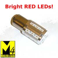 1156-23-5630-RED LED 1156 Brake or Tail Light (Single Intensity)