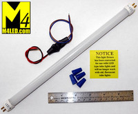 "T5-Tube-WW Warm White 12"" T-5 LED Tube Lights 3200k"