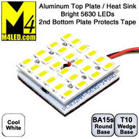 ALPLATE-24-5630-CW Cool White Double Aluminum Plate