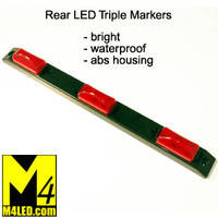 Rear Triple LED Clearance Lights
