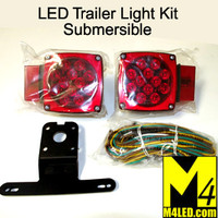 Submersible Trailer LED Tail Lamp Kit