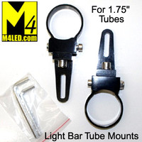 "Versatile Light Bar Mount for 1 3/4"" tubing - Pair"