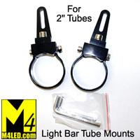 "Versatile Light Bar Mount for 2"" tubing - Pair"