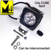 Special Buy SAN6122 12w Cube Spot Light