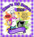 Kim's Maple Syrup BS Sauce