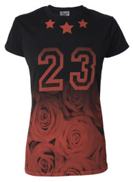 23 Rose Womens T Shirt