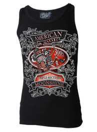 American Moonshine Black Beater Vest
