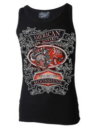American Moonshine Black Beater Vest