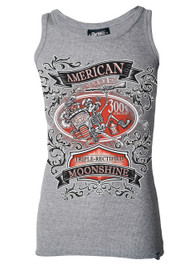 American Moonshine Grey Beater Vest
