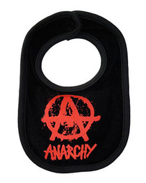 Anarchy Black Bib