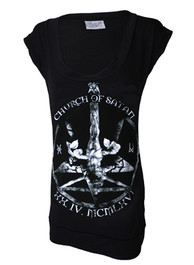 Antichrist Fitted T Dress