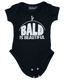 Bald Is Beautiful Baby Grow
