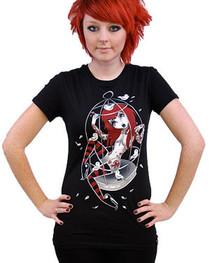 Birdcage Womens T Shirt