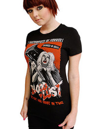 Blood Lust Womens T Shirt