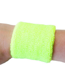 Bright Yellow Sweatband