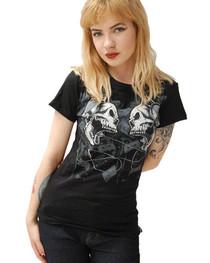 Cassette Womens T Shirt