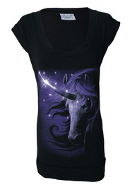 Cosmic Unicorn Fitted T Dress