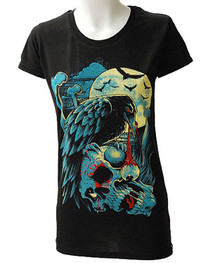 Crow Womens T Shirt