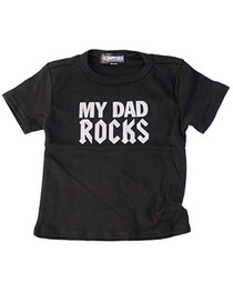 Dad Rocks Kids T Shirt