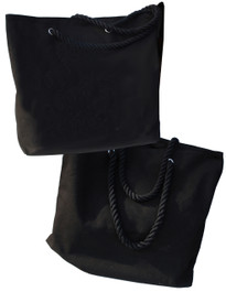 Darkside Black Shopper Beach Bag