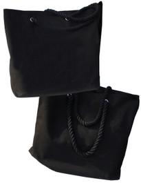 Darkside Black Shopper Beach Bag